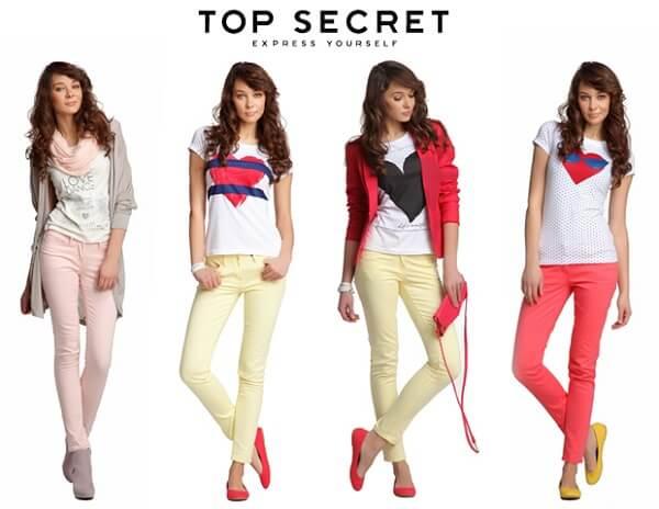 Top Secret – самый популярный бренд, а интернет-магазин реализует оригинальную одежду для активных